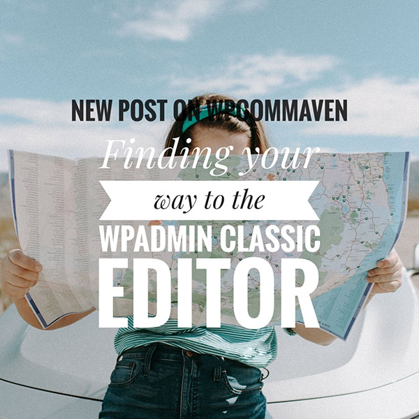 Writing in WP Admin Classic Editor https://wp.me/p1MwNN-1D9